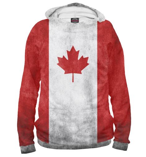 Худи Print Bar Флаг Канады флаг пограничных войск россии великий новгород