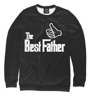 Женский свитшот The Best Father