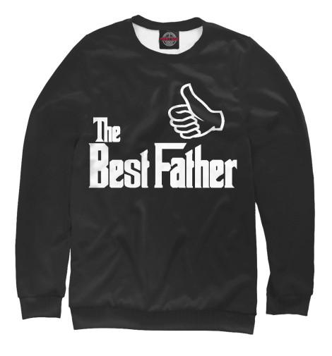 Купить Свитшот для девочек The Best Father WHO-472692-swi-1