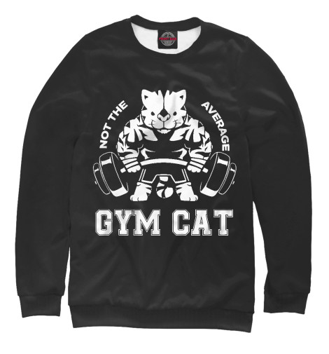 Свитшот Print Bar Gym Cat