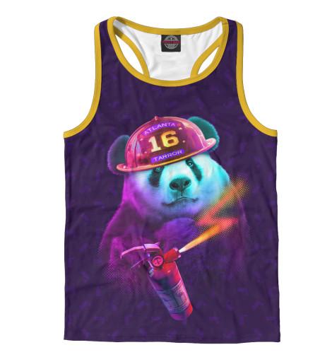 Майка борцовка Print Bar Panda Fireman футболка print bar panda color