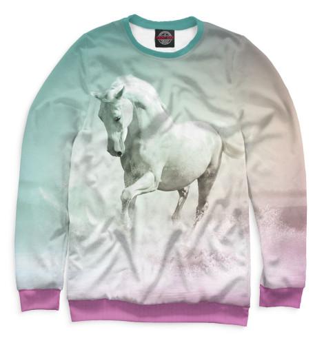 Женский свитшот Лошадь