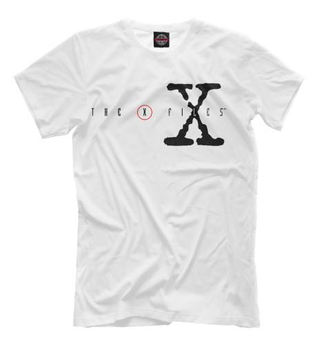 Футболка Print Bar The X-Files logo fidelity files the