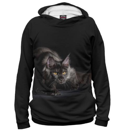 Худи Print Bar Черный кот худи print bar кот