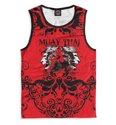 Майка Print Bar Muay Thai свитшот print bar muay thai boxing