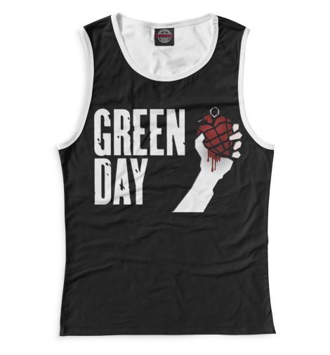 Женская майка Green Day