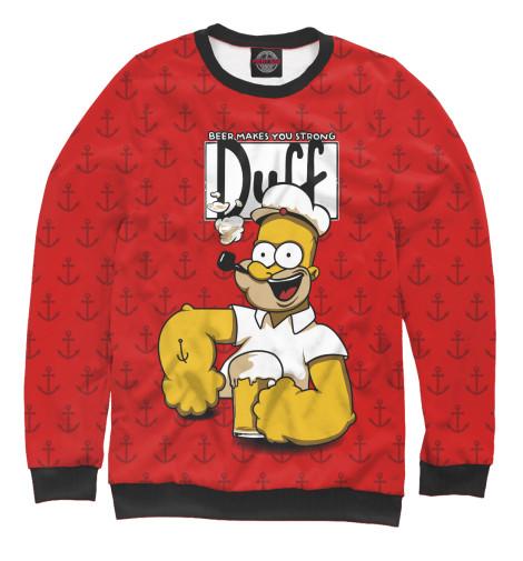 Купить Свитшот для девочек Duff Beer SIM-233754-swi-1