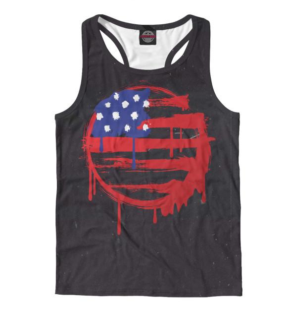 Купить Майка для мальчика American Flag (Американский флаг) CTS-166056-mayb-2