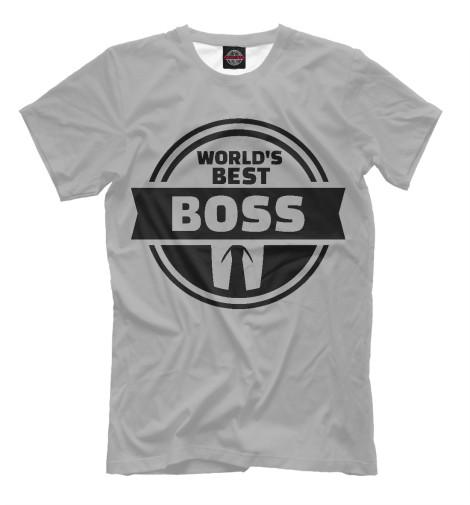 Футболка Print Bar Лучший босс худи print bar лучший босс