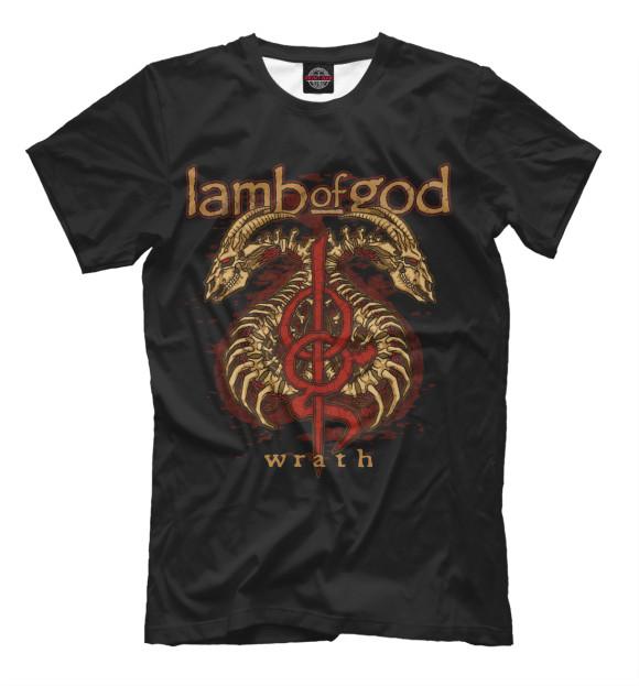 Купить Мужская футболка Lamb of God MZK-688726-fut-2
