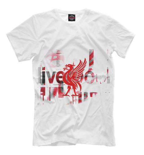 где купить Футболка Print Bar FC Liverpool по лучшей цене