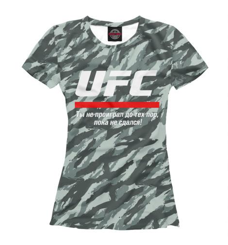 Футболка Print Bar UFC комуфляж ufc 2 ps4