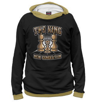 Женское худи The King