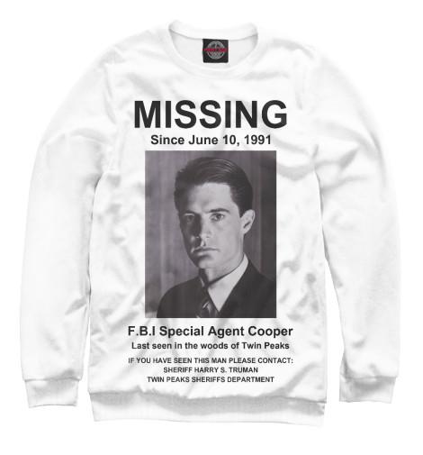 Свитшот Print Bar Agent Cooper Missing свитшот print bar alice cooper