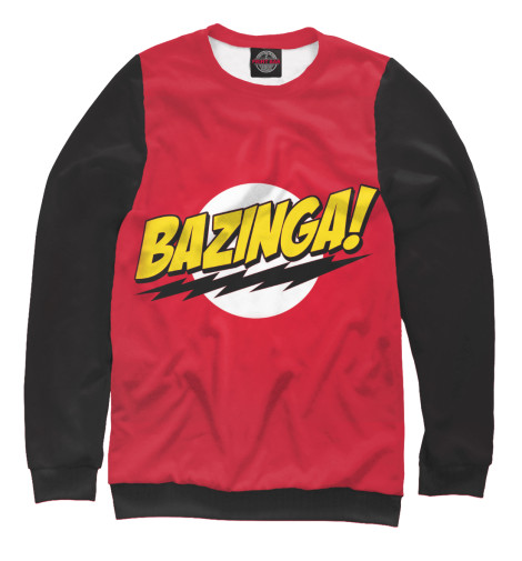 Свитшот Print Bar Bazinga худи print bar bazinga