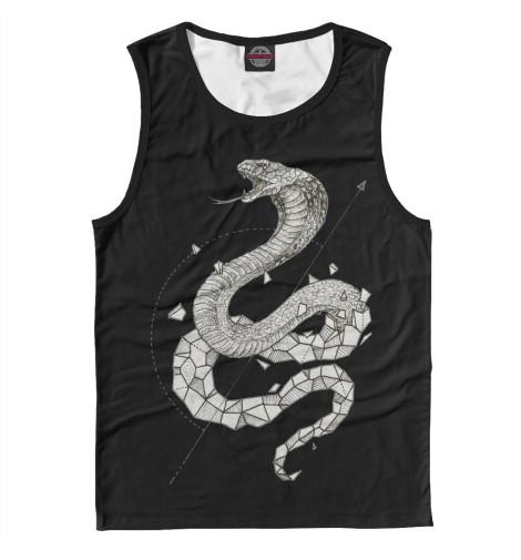Купить Мужская майка Geometric dark snake APD-154964-may-2