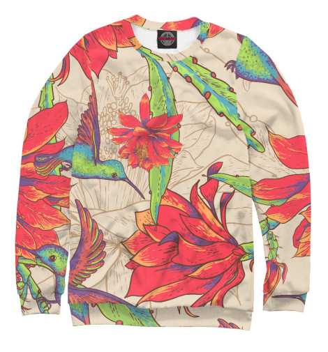 Свитшот Print Bar tropical birds свитшот print bar tropical style