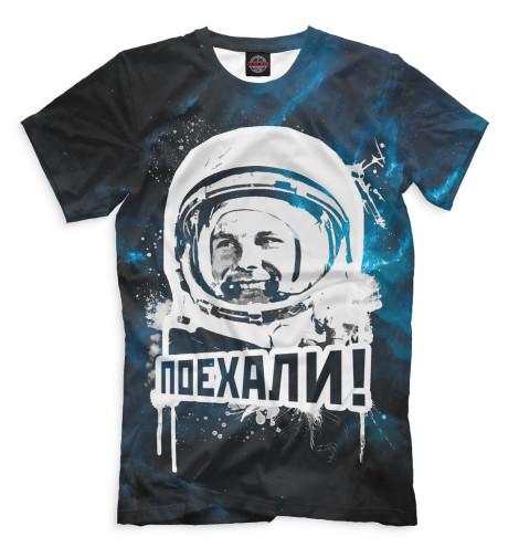 Мужская футболка Юрий Гагарин