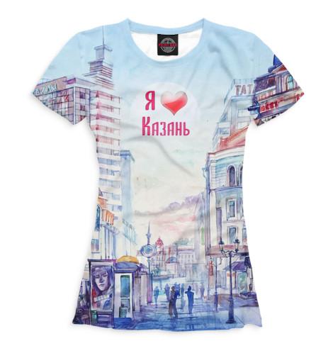 Купить Женская футболка Казань KZN-610034-fut-1