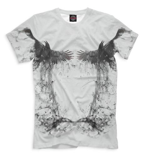 Мужская футболка Ворон