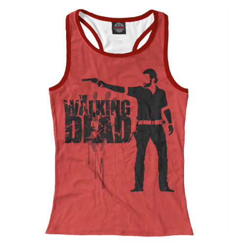 Майка борцовка Print Bar The Walking Dead худи print bar the walking dead