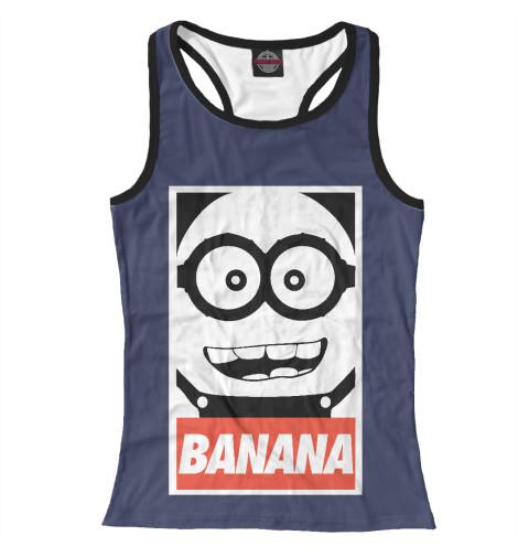 Майка борцовка Print Bar Banana майка борцовка print bar banana usa