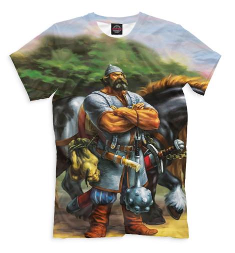 Купить Мужская футболка Богатырь BGT-750104-fut-2