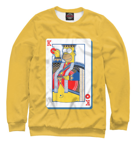 Свитшот Print Bar King Homer худи print bar homer logan