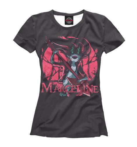 Фото - Женская футболка Marceline от Print Bar белого цвета