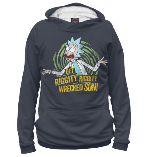 Купить Женское худи Rick and Morty RNM-404279-hud-1