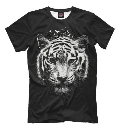 Футболка Print Bar Тигр футболка print bar белый тигр