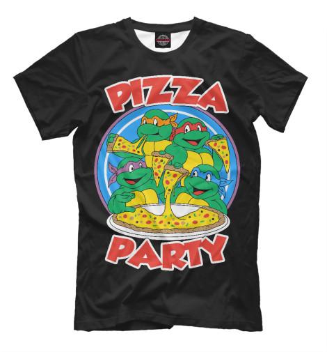 Футболка Print Bar Pizza Party прибор для приготовления пиццы ariete 908 da gennaro pizza party