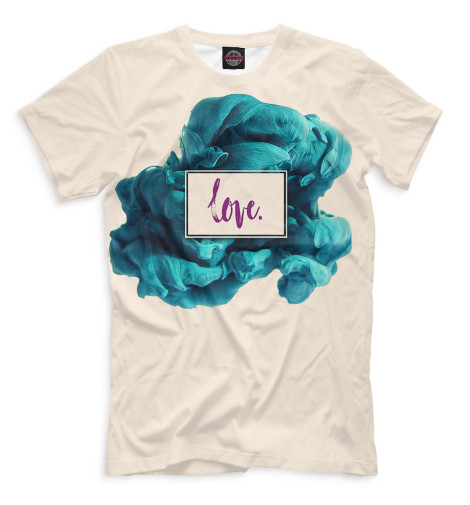 Мужская футболка Love.