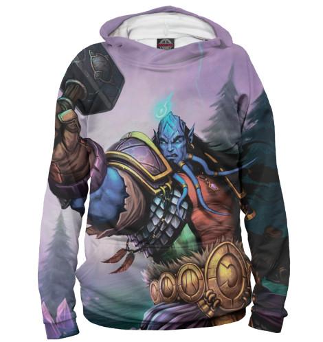 Худи Print Bar World of Warcraft world of warcraft wow pvc action figure display toy doll dwarven king magni bronzebeard