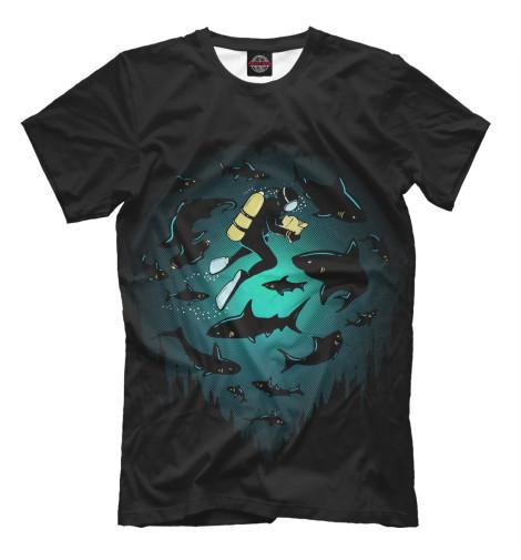 Футболка Print Bar Подводный мир де ла бедуайер камилла подводный мир