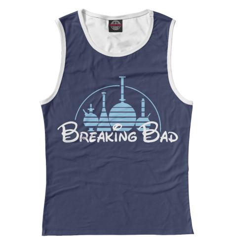 Майка Print Bar Breaking Disney футболка рингер printio breaking disney