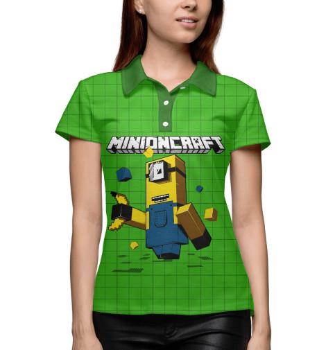 Купить Поло для девочки Minioncraft MIN-477556-pol-1