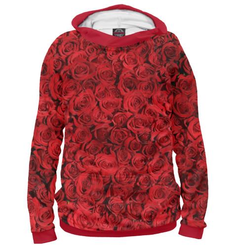 Худи Print Bar Роза пламенная роза тюдоров