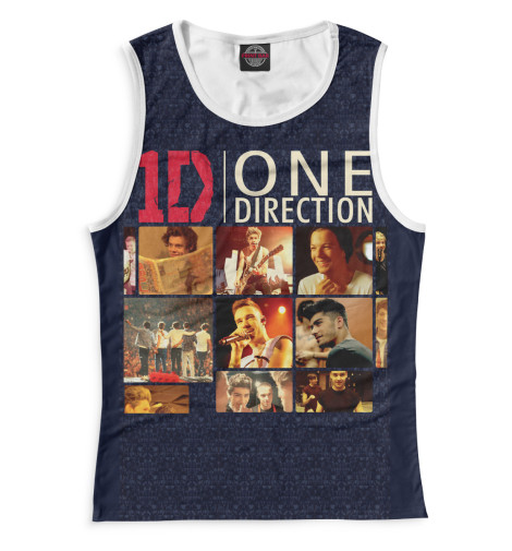 Майка Print Bar One Direction худи print bar one direction