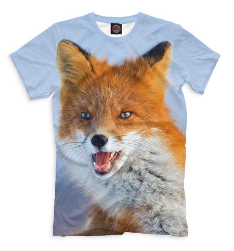 Мужская футболка Лисы