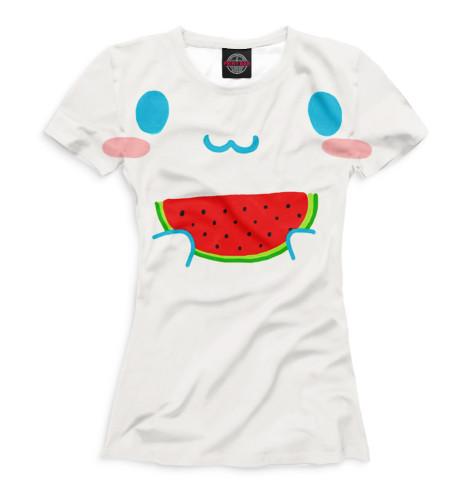 Женская футболка Арбуз