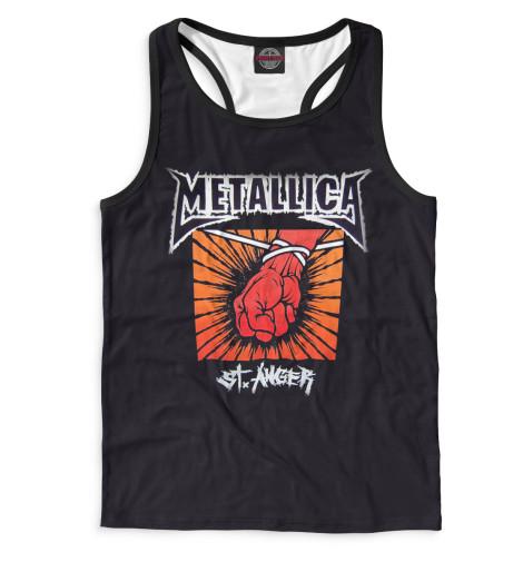 Мужская майка-борцовка Metallica