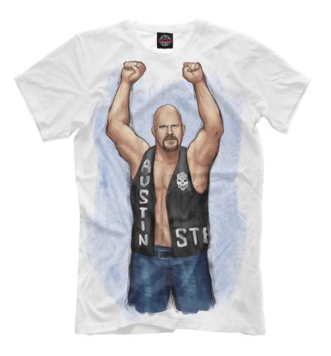 Футболка Print Bar WWE: Стив Остин свитшот print bar wwe сет роллинс