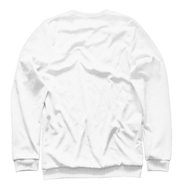 Мужской свитшот с изображением Marshmello цвета Белый