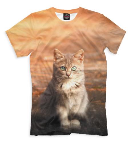 Купить Мужская футболка Коты CAT-719104-fut-2
