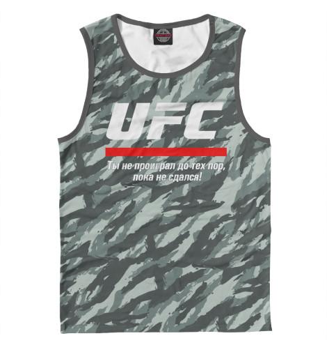 Майка Print Bar UFC комуфляж ufc 2 ps4
