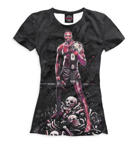 Женская футболка Единоборства