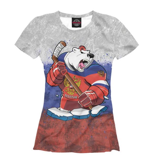 Купить Футболка для девочек Медведь HOK-184460-fut-1