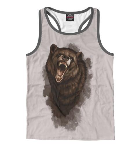 Майка борцовка Print Bar Бурый медведь майка борцовка print bar бурый медведь