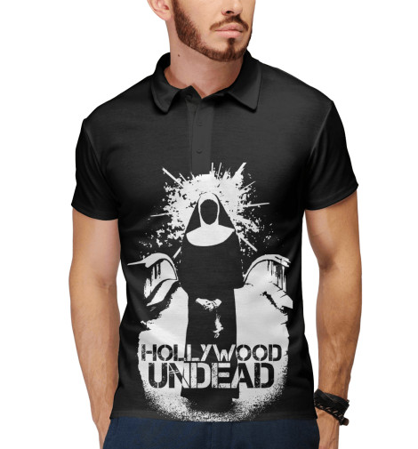 Поло Print Bar Hollywood Undead худи print bar hollywood undead logo4